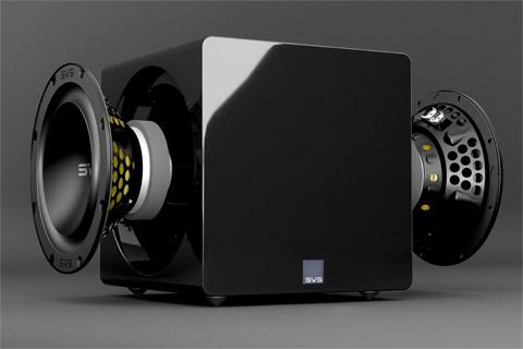 SVS SB3000 Micro subwoofer, black