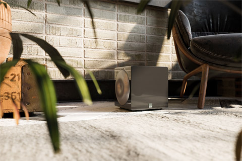 SVS SB3000 Micro subwoofer, lifestyle