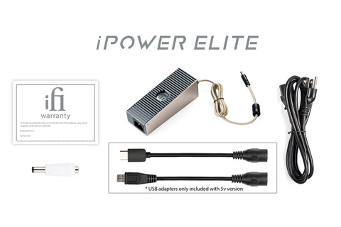 ifi iPower Elite DC power supply with noise reduction - Content