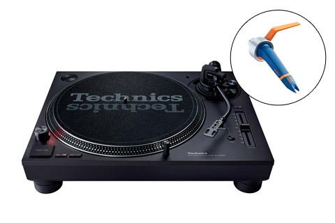 Technics SL-1210 turntable inkl. DJ pickup