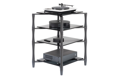 NorStone SLENDER with 4 shelves - In use