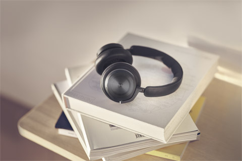 B&O Beoplay HX headphones, black anthracite