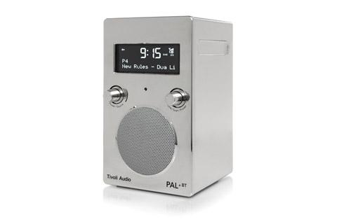 Tivoli Audio PAL+ BT, chrome 2.gen