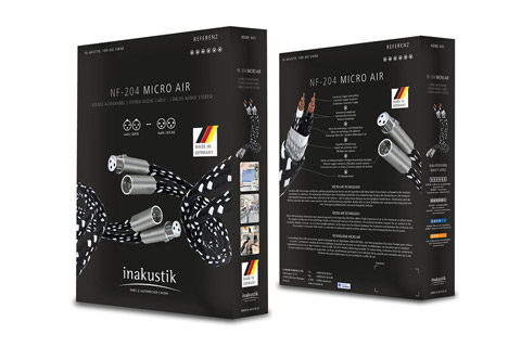 Inakustik Referenz NF-204XLR Micro Air stereo cable