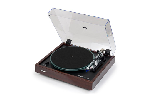 Thorens TD 148A turntable, brown