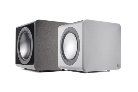 Cambridge Minx X201 subwoofer - Black and White