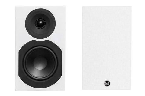 System Audio Saxo 5 kompakt højttaler, hvid satin