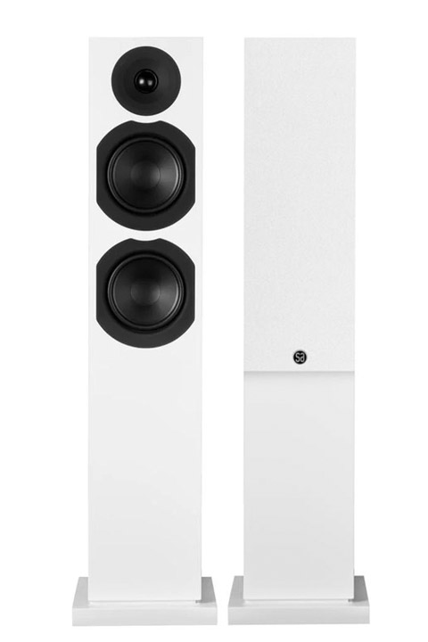 System Audio Saxo 40, hvid satin