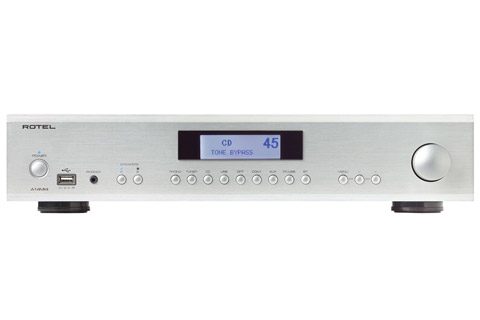 Rotel A14 MKII integrated amplifier, silver