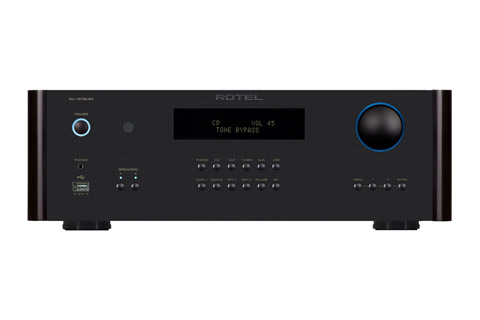 Rotel RA-1572 integrated amplifier, black