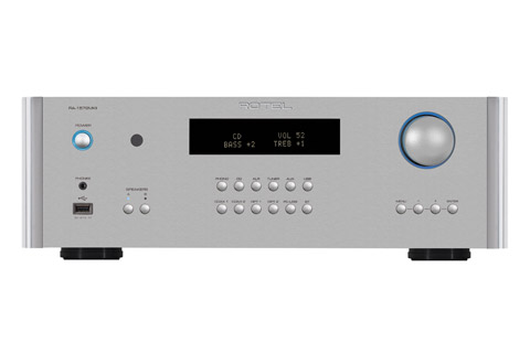 Rotel RA-1572 integrated amplifier, silver
