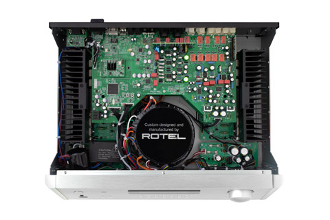 Rotel RA-1572 integrated amplifier, inside