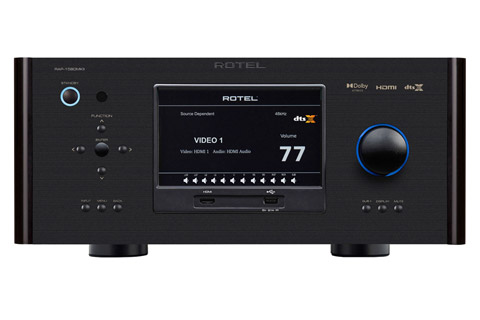 Rotel RAP-1580 MKII surround receiver, black