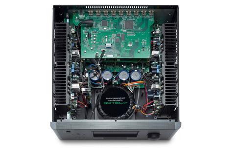 Rotel RAP-1580 MKII surround receiver, inside
