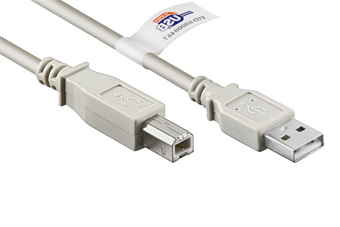 Goobay USB 2.0 A-B certified cable