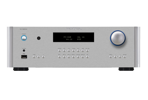 Rotel RC-1590MKII stereo preamplifier, silver