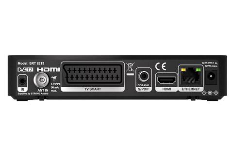 Strong SRT8213 DVB-T2 HD receiver