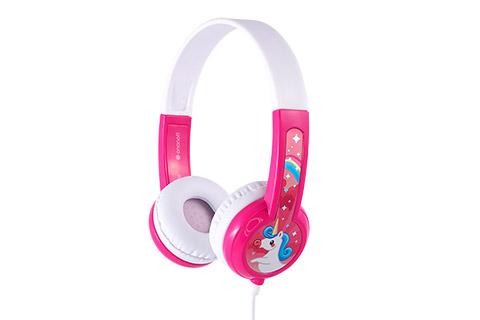 Buddy Phones Discover Fun, pink