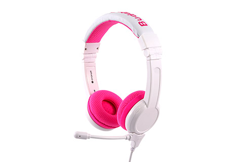 Buddy Phones School+ børnehovedtelefoner, pink