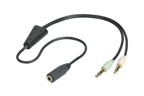 Goobay audio adapterkabel