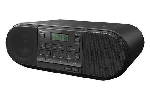 Panasonic RX-D552 ghettoblaster, black