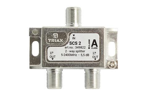 Triax SCS 2 2-vejs splitter