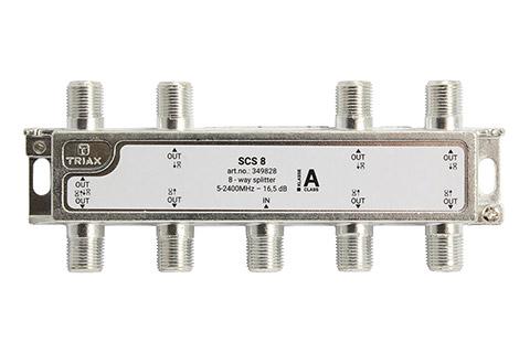 Triax SCS 8 8-vejs splitter