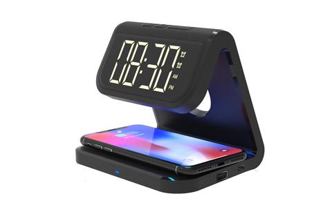 Blaupunkt BLP 2860 FM clock radio with QI charger