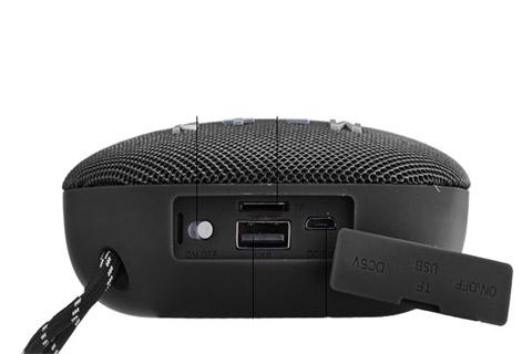 Blaupunkt BLP 3120 portable Bluetooth speaker - Black side