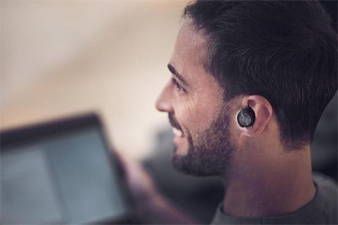 B&O Beoplay EQ in-ear headphones, black