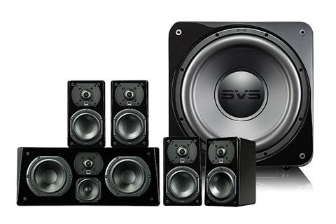 SVS Prime 5.1 system black high gloss