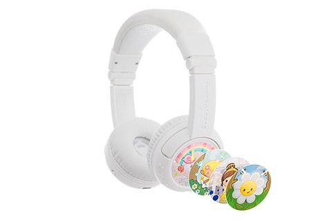 Buddy Phones Play+ headphones, white
