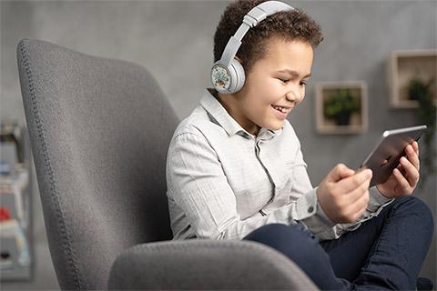 Buddy Phones Play+ headphones, lifestyle