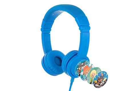 Buddy Phones Explore+ headphones, blue