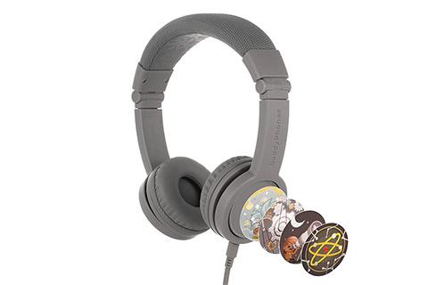 Buddy Phones Explore+ headphones, grey