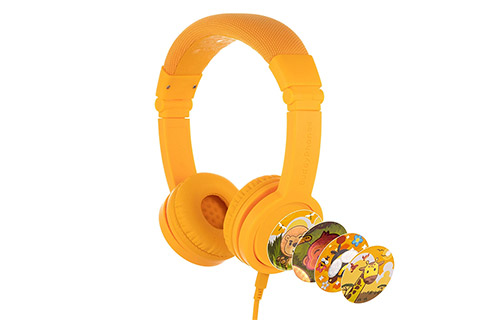 Buddy Phones Explore+ headphones, gul