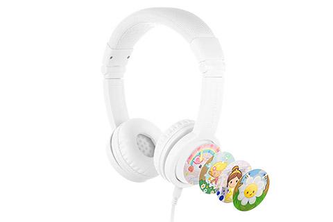Buddy Phones Explore+ headphones, white