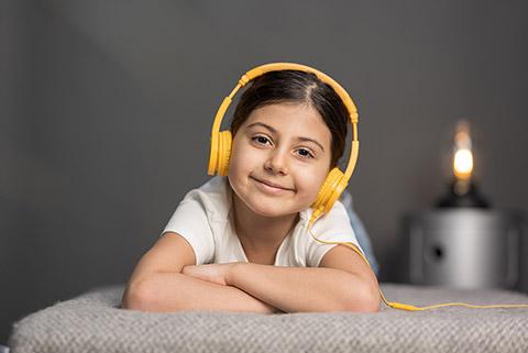 Buddy Phones Explore+ headphones, lifestyle