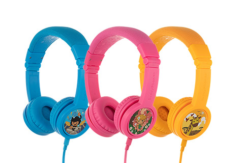 Buddy Phones Explore+ headphones, all
