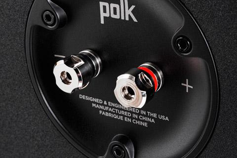 Polk Audio Reserve R600 floor speaker - Terminals