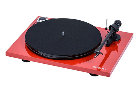 Pro-Ject Essential III Phono, red