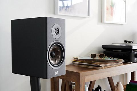Polk Audio Reserve R200 bookshelf speaker - lifestyle