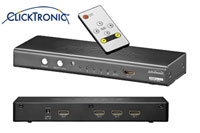 ClickTronic CT-E441 HDMI Switch 4-way
