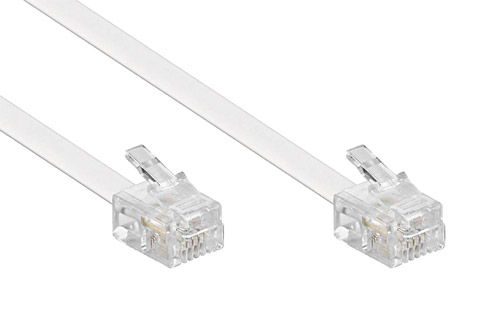 TEL-6P4C030B, Hvid