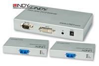 Lindy fiberoptisk DVI -D forlængersæt