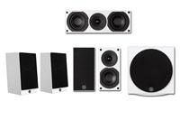 System Audio Saxo 5.1 Set A White