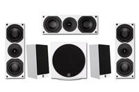 System Audio Saxo 5.1 Set C White
