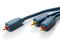 Clicktronic Casual series subwoofer Y-split cable