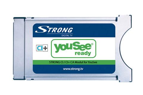YouSee godkendt CI+ CAM modul til betalingskanaler på DVB-C kabel TV