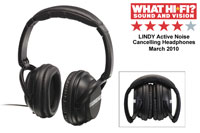 Anmelderroste hovedtelefoner fra Lindy, der let kan pakkes sammen, så de ikke fylder så meget.